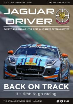 Jaguar Driver Issue 722