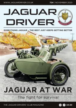 Jaguar Driver Issue 724