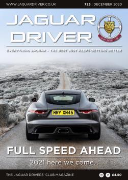 Jaguar Driver Issue 725