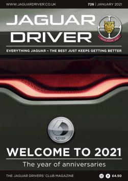 Jaguar Driver Issue 726