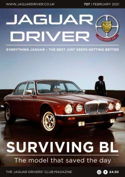 Jaguar Driver Issue 727