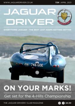 Jaguar Driver Issue 729
