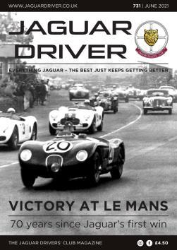 Jaguar Driver Issue 731