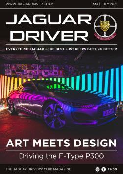 Jaguar Driver Issue 732
